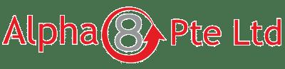 alpha 8 small logo